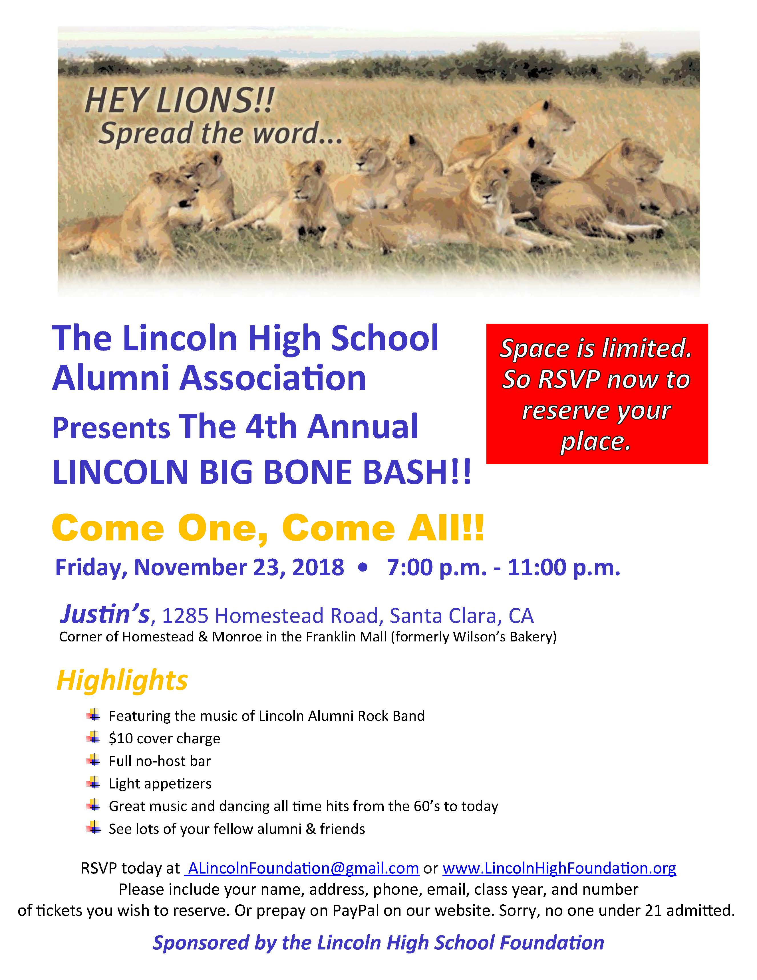 Big Bone Bash Flyer 2018